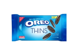 This July OREO is launching OREO Thins, a crisp, delicate take on the cookie you know and love. (PRNewsFoto/Mondelez International)